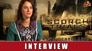Maze Runner 2 - Interview | Kaya Scodelario