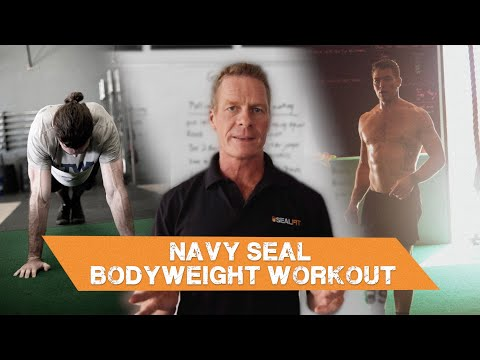 Creating a Navy SEAL Bodyweight Workout