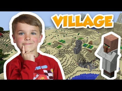 WE DISCOVERED AWESOME VILLAGE | MINECRAFT SURVIVAL MODE | MINECRAFT LET'S PLAY SERIES