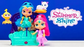 SHIMMER & SHINE Floating and Sing Palace Seek and Find +Minnie Mouse + Frozen + Dora New Toys Video