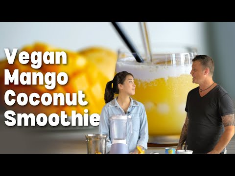 Mango Coconut Smoothie ❤️️