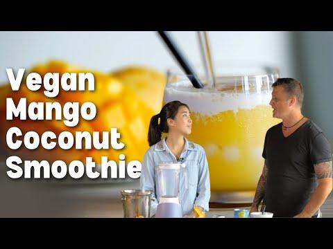 Mango Coconut Smoothie ❤️️
