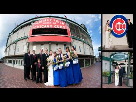 Chicago Cubs Themed Wedding At Wrigley Field