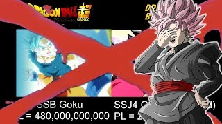 Dragon Ball Super VS Dragon Ball GT Power Levels DEBUNKED!