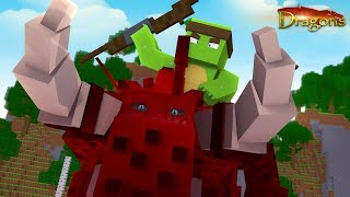 TINYTURTLE CAN CONTROL THE BEWILDERBEAST ARMY! - Minecraft Dragons