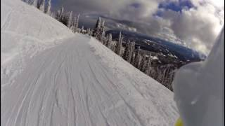Red Mountain, Rossland BC Skiing, short video