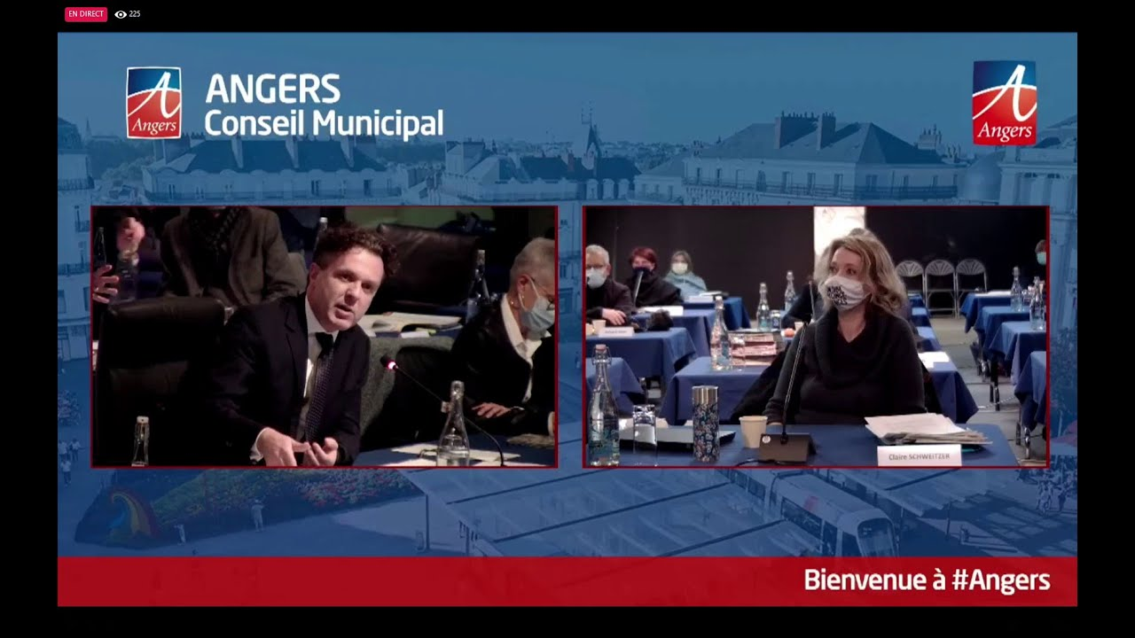 Conseil municipal - 25 janvier 2021 - Réaction suite à l'attaque de l'Etincelle par des néonazis