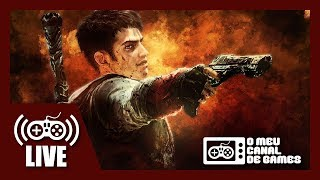 [Live] DMC: Devil May Cry (Xbox One X) - Caçando Demônios AO VIVO #2 (Aquecimento DMC5)