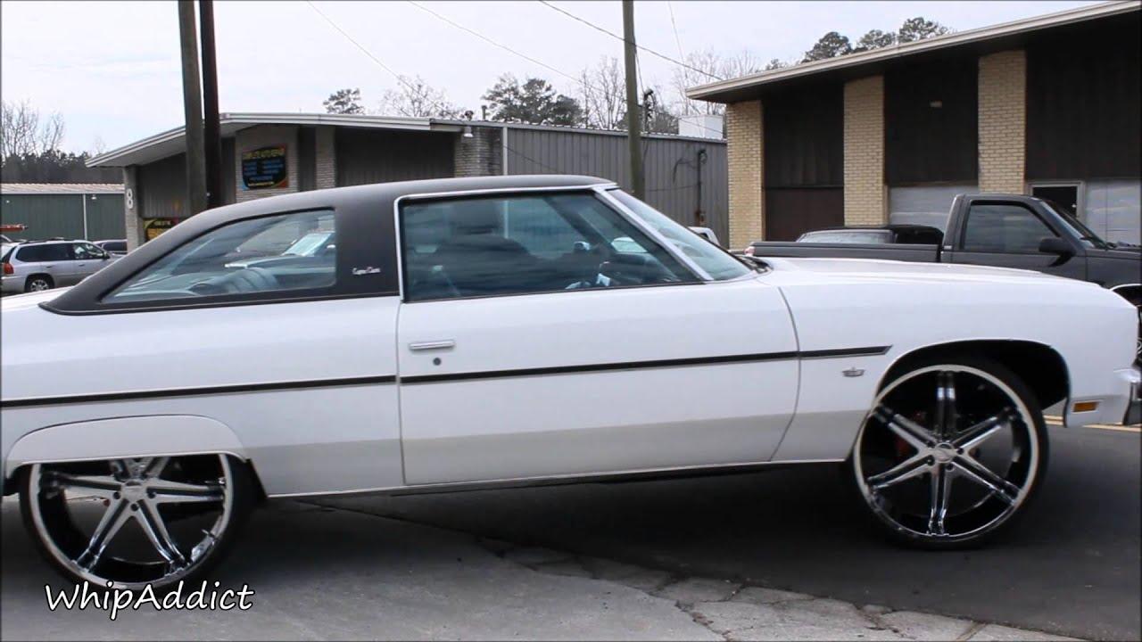WhipAddict: Clean 76' Chevrolet Caprice Clic on 26s - YouTube