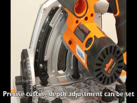 Triton Plunge Track Saw TS1415 - Elite Tools