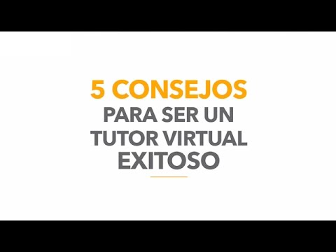 5 consejos para ser un tutor virtual exitoso - Poli Virtual