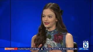 "Mackenzie Foy Spills on her Famous Co-Stars in ""The Nutcracker and the Four Realms"""