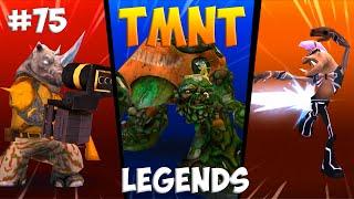 Черепашки-Ниндзя: Легенды. Прохождение #75 ALL Bosses (TMNT Legends IOS Gameplay 2016