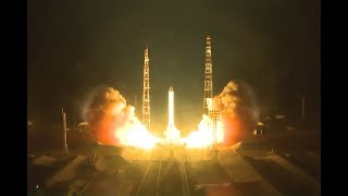 Пуск ракеты-носителя «Протон-М» с космическим аппаратом Минобороны России-«Космос-2520»