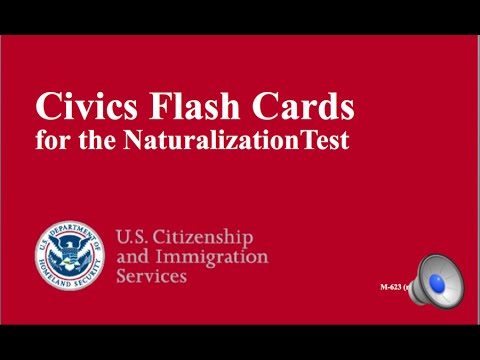 OFFICIAL 100 US CITIZENSHIP INTERVIEW QUESTIONS - ALL 100 CI