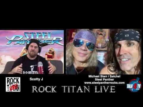 Steel Panther Michael Starr and Satchel share Heavy Metal Rules