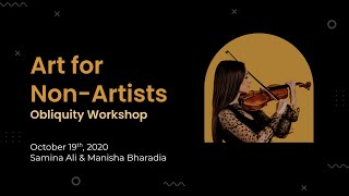 Art for Non Artists with Dr. Samina Ali