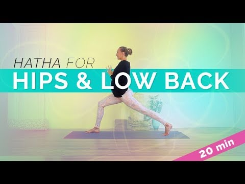 Beginner Hatha Yoga | Low Back and Side Body Hatha Sequence (20-min)