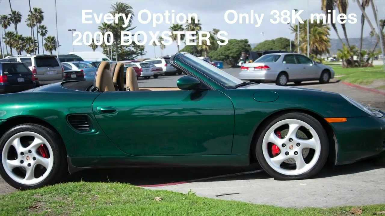 2000 boxster s for sale in san diego youtube. Black Bedroom Furniture Sets. Home Design Ideas