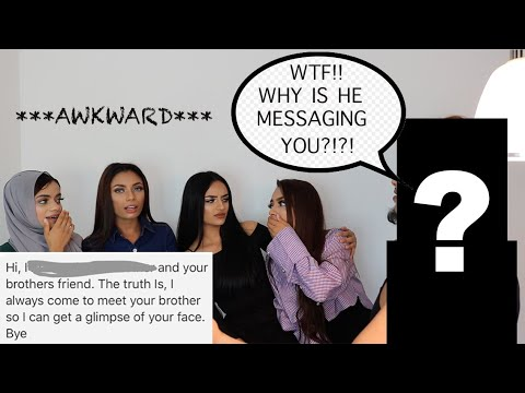 STRICT MUSLIM BROTHER READS OUR DMS!! ***gets very awkward***