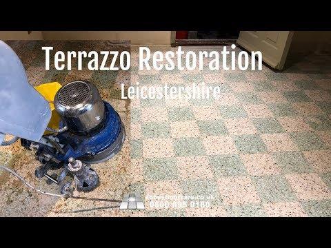 Terrazzo Restoration Leicester LE7   Abbey Floor Care