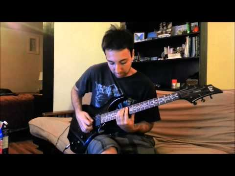 """IMPALEMENT New Song """"Theological Disfgurement"""" Guitar playthrough by Alex Toré"""