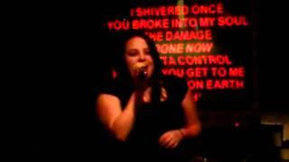 Lindsay Ferguson (Karaoke Contest 1 14 12) - Noone Else oN Earth