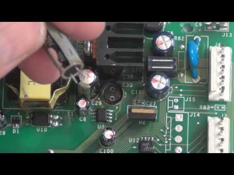 GE Refrigerator Not Cooling Clicking Control Board Repair ... on
