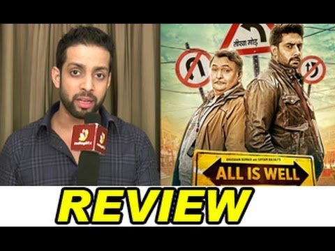 'All Is Well' Review by Salil Acharya | Abhishek Bachchan, Asin, Rishi Kapoor | Rating