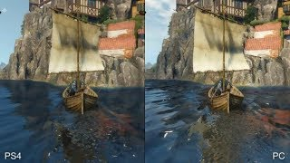 The Witcher 3 Wild Hunt PC Ultra Vs PS4 Graphics Comparison