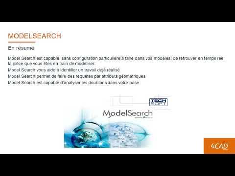 ModelSearch, l'outil de recherche en fonction de la géométrie de votre modèle 3D