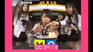 AKB48初期の番組 2007年3月25日放送。 毎回AKB48メンバーが番組から出題...