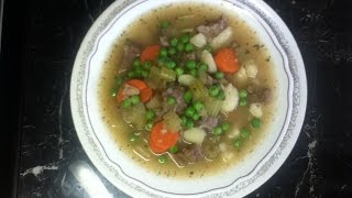 Easy Lamb Neck Stew Recipe /Tasty Lamb Neck Soup Recipe/ Healthy Soup Recipe