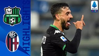 Sassuolo 3 1 Bologna | Caputo Bags A Brace To Grab The 3 Points For Sassuolo! | Serie A