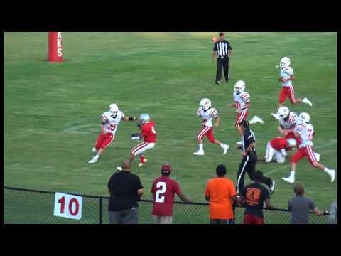 Jalen McCants Eight Grade Football Saks Middle School