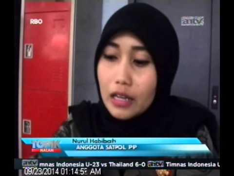 [ANTV] TOPIK  Nurul Habibah Satpol PP Cantik Jadi Trending Topik