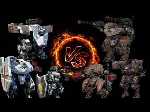 1V1 AMERICAN ROBOTS V/S BRITISH ROBOTS : War Robots