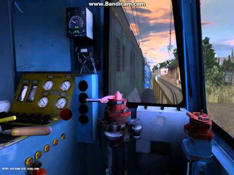 Маневровая работа ЧМЭ3 в игре Trainz Simulator 2012 12 Поезда России