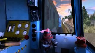 Маневровая работа ЧМЭ3 в игре Trainz Simulator 2012 12 Поезда России(Моё первое видео,не судите строго,за качество извиняйте снимал первый раз., 2014-06-27T23:18:36.000Z)