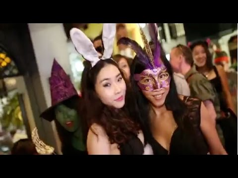 Singapore Pub Crawl Halloween Party Special