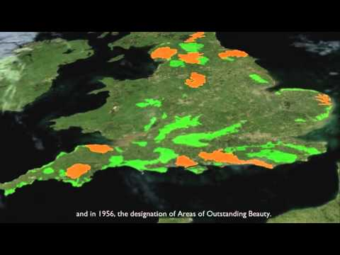 Conservation in England; a history of designation