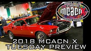 2018 Muscle Car And Corvette Nationals Week Preview!  V8TV MCACN Tuesday