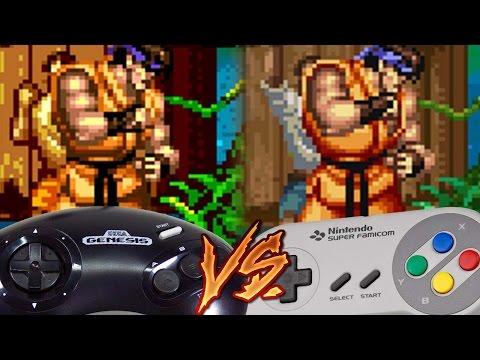 Sega Genesis Vs Super Nintendo - Super Street Fighter II