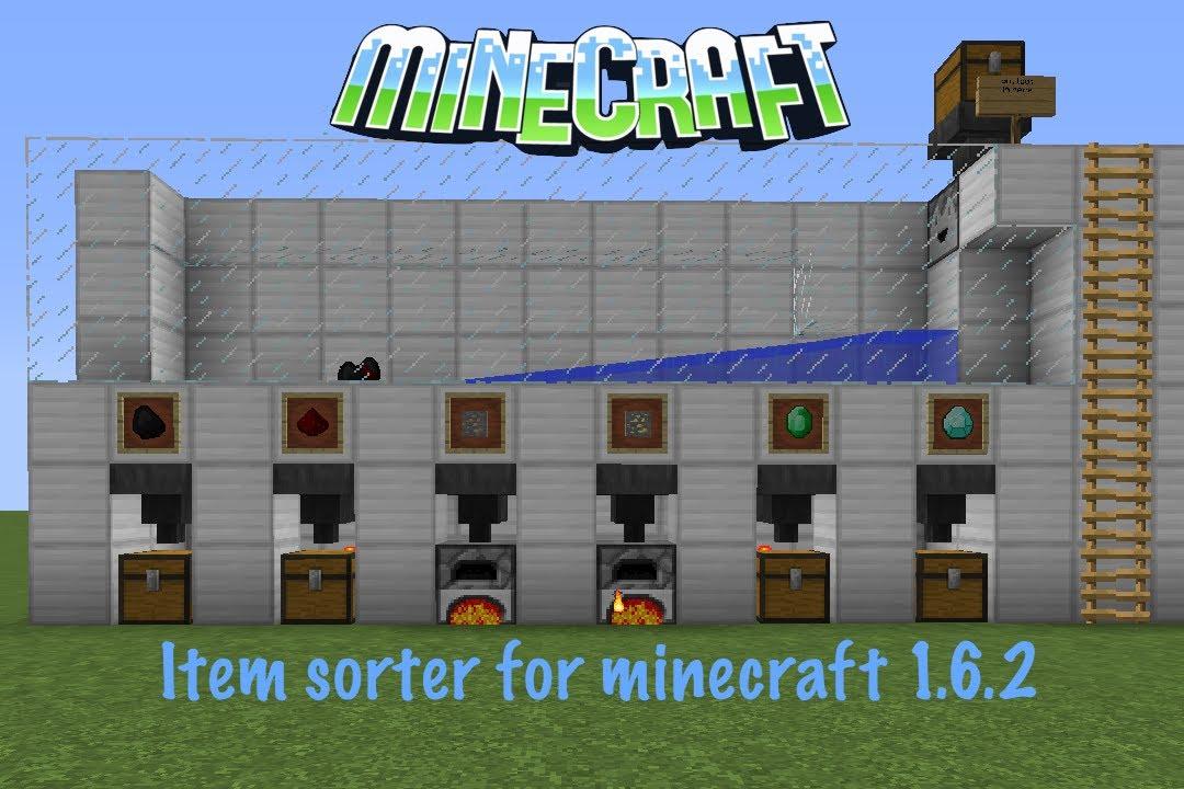 Item sorter, creation #7948 - minecraft-schematics.com