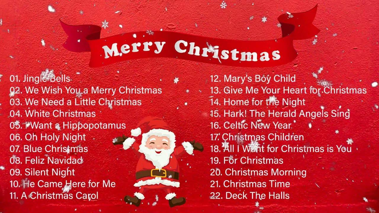 Christmas Carols Playlist Top Christmas Music 2020 Christmas Songs Youtube
