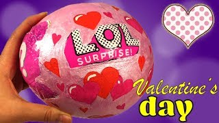 Valentine's day L.O.L. Surprise! Special edition! Limited edition!