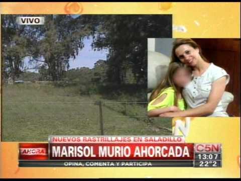 C5N - CRIMEN DE MARISOL: LA MUJER MURIO AHORCADA