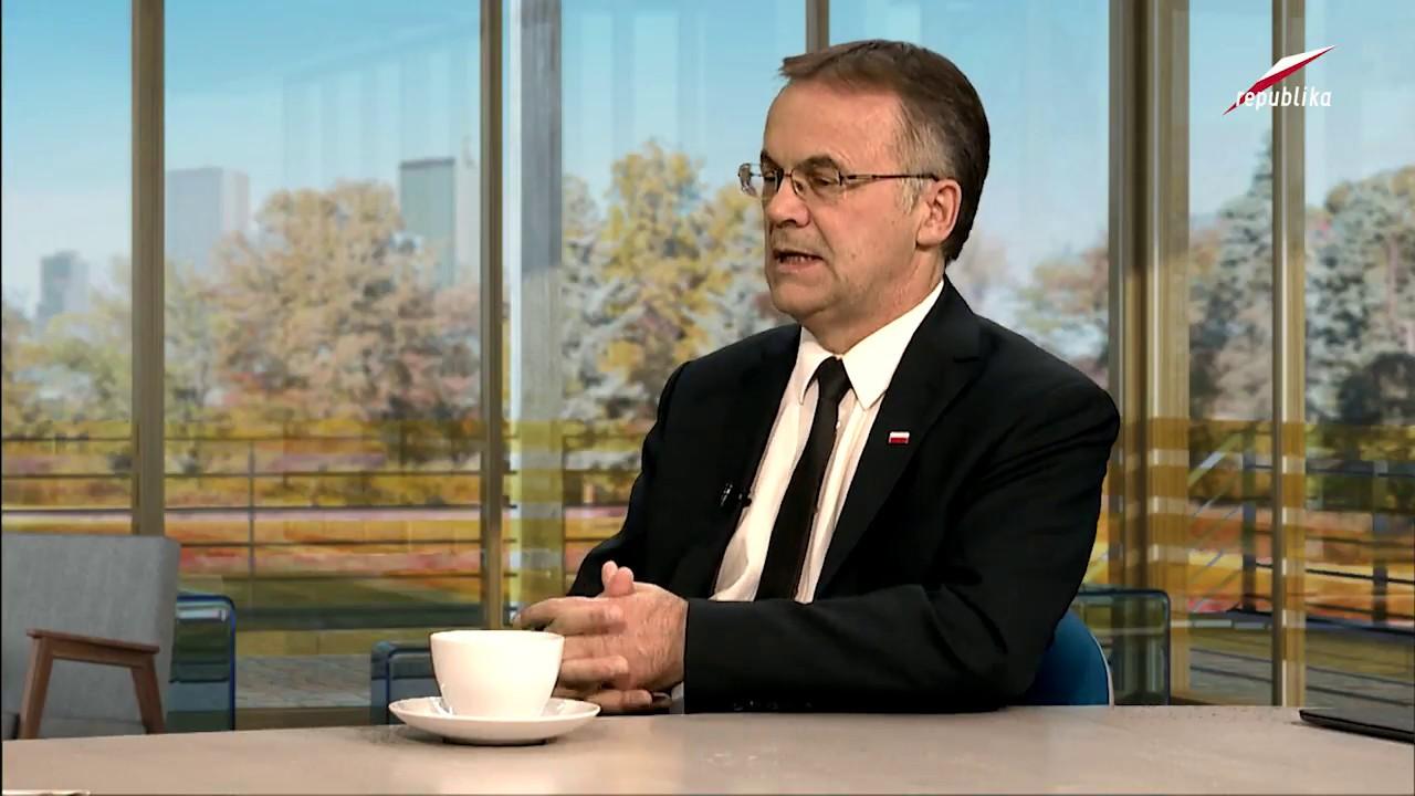 Telewizja Republika – Jarosław Sellin – Prosto w Oczy 2017-10-02