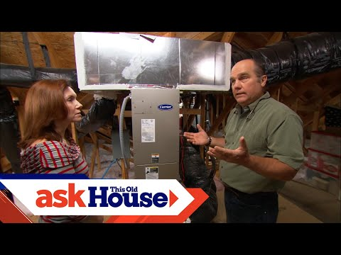 How to Install a Whole-House Humidifier - YouTube
