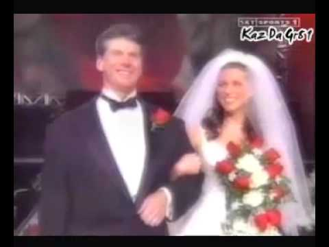 Stephanie Mcmahon Triple H Renew Their Wedding Promo